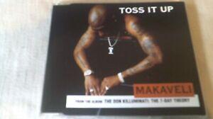 2PAC / MAKAVELI - TOSS IT UP - 4 TRACK CD SINGLE