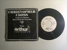 "Christopher Cross / Arthur's Theme -Disco Vinile 45 Giri 7"" Stampa Italia1981"