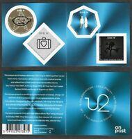 U2 Ireland postage Stamp Celebration booklet-mnh -2020 new issue-Rock Music