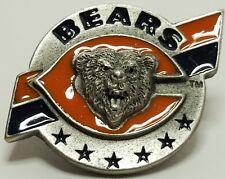 Vintage Chicago Bears Metal Hat/Tie Pin NFL Team Logo