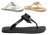 Sandali scarpe da donna bassi Laura Biagiotti 6385 infradito casual mare estive