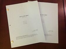 """The Big Bang Theory TV Script Revised """"Pilot"""" Episode 10/2/2006 COLOR COVER"""