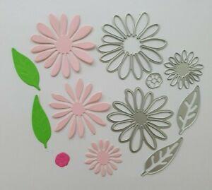 Craft Metal cutting die Scrapbooking  Paper crafts DIY Cards - Make-up Flower