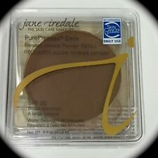 Jane Iredale PurePressed Base Mineral Foundation REFILL FulSz .35oz TERRA