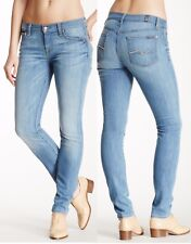 $178 7 For All Mankind Gwenevere Laurel Ridge LARR Wash Skinny Jeans