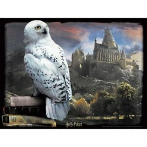 Harry Potter 3D Image Puzzle 500pc Hedwig Official Merchandise
