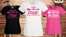 Hen Night T Shirts Hen Do Party Bride T-Shirt Custom Ladies Personalised Printed