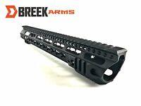 Breek Arms 223 KEYMOD Forward Cut Slim Free Float Handguards 7, 10, 12, 15 Inch