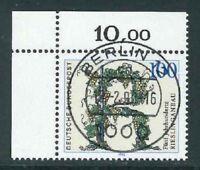 BRD Mi-Nr. 1446 zentrisch Berlin Vollstempel + Gummierung - Bogenecke / Ecke 1