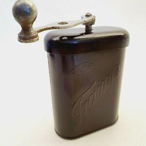 TRAMP coffee grinder mill BAKELITE antique 1930's f coffee maker collect Vintage