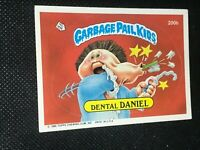 Garbage Pail Kids #200b Dental Daniel