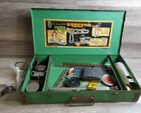 VINTAGE 1935 GILBERT ERECTOR SET PIECES MISSING