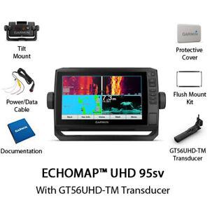 Garmin ECHOMAP UHD 95sv With GT56UHD-TM Transducer 010-02525-00
