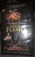 """Michael Flatley's """"Feet Of Flames"""" (VHS, 1998, Clamshell) Live Event) New Rare"""