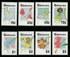 Grenada   1994   Sc # 2337-44   Orchids   MNH   (54207)