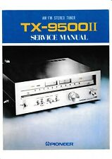 Service Manual-Anleitung für Pioneer TX-9500 II