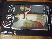 µ? La Revue Napoleon 200 ans apres n°40 Le Divorce Illyrie Staps attentat