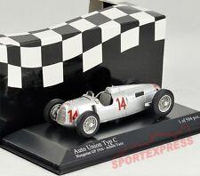 NEW 1/43 Minichamps Auto Union Typ C, Hungarian GP 1936, Achille Varzi #14