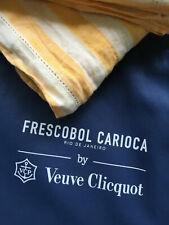 More details for  veuve clicquot linen beach towel /throw/sarong  made by frescobol carioca bnib