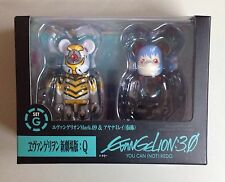 Bearbrick EVA 3.0 Mark 09 Q Rei Ayamani 100% boxset 2pcs set G Box