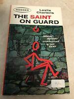 The Saint Guard Leslie Charteris 1963 Hodder