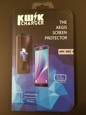 The Aegis Stealth IPHONE 6 6S ANTI SPY Screen Protector KIT
