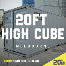 20FT HIGH CUBE Shipping Container | New Builds + lockbox included - Melbourne