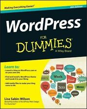 Sabin–Wilson, Lisa, WordPress For Dummies (For Dummies (Computers)), Very Good B