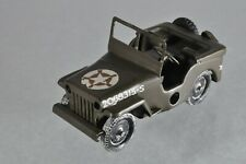 H049 TriAng Minic Clockwork Willys US Army Jeep A/-