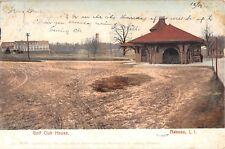 1905 Golf Club House Nassau NY post card Queens
