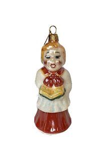 Christopher Radko Choir Boy Christmas Ornament Holiday Celebrations Ceramic