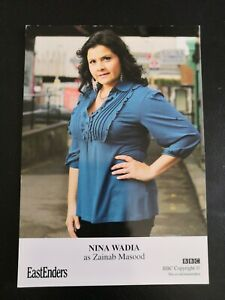 EASTENDERS UNSIGNED CAST CARD OF NINA WADIA