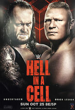Official WWE - Hell in a Cell 2015 A4 Size Poster
