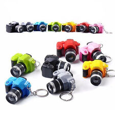 Camera With Flash Light Lucky Cute Charm LED Luminous Keychains HOT SALE