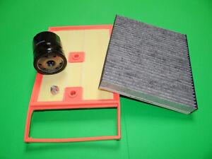 Ölfilter Luftfilter Aktivkohle Pollenfilter Skoda Fabia III 1.4 TDI 55/66/77kW