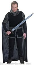 Hommes Shérif de Nottingham Robin Capuche Chevalier Médiéval Déguisement Costume