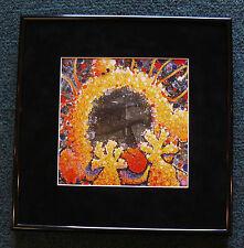 Tom Everhart Peanuts Linus Framed Print Black Velvet Scream