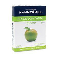 Hammermill Copier Paper,100 Brightness, 28lb, 8 1/2 x 11, Photo White - 500/Ream