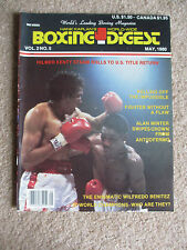 MAY 1980 ISSUE  BOXING DIGEST MAGAZINE HILMER KENTY  COVER
