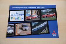 208558) Mitsubishi Space Wagon GDI - Family - Prospekt 03/1999