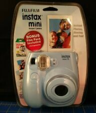 Fujifilm Instax Mini 7S Instant Camera (with 10-pack film) Light Blue