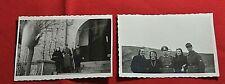 2x Foto Soldat 2 Weltkrieg Elz Limburg 1943 9 x 6 cm im guten Zustand