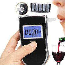 Advanced Police Digital Breath Alcohol Tester Breathalyzer Analyzer Detector#X#