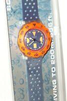 Swatch Watch Scuba 200 Swatchuhr Watches Sdk 100 Deep Blue Watches New Box Blue