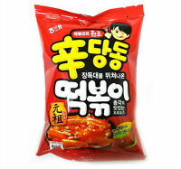 2ea HAITAI 110g Sindangdong Tteokbokki Topokki Flavored Sweet Spicy Korean Snack