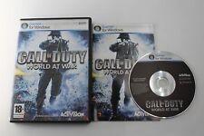 PC CALL OF DUTY WORLD AT WAR COMPLETO PAL ESPAÑA