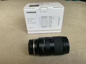 EXCELLENT Tamron Di III 28-75mm F/2.8 RXD Lens for Sony