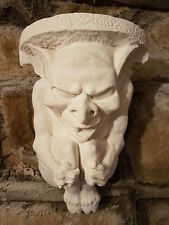 1 Architectural ornate plaster corbel bracket shelf wall decor plaque gargoyle