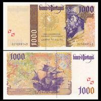 Portugal 1000 Escudos,1998- 2000, P-188, UNC