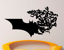 Batman Wall Vinyl Decal Comics Superhero Sticker Removable Home Decor (12jbat)